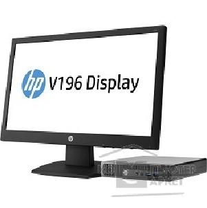 Компьютер Hp Bundle  260 G1 [W4A36ES] DM/ Cel 2957U/ 4Gb/ 128GB SSD/ DOS/ k+m/ monitor V196