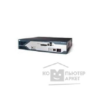 Сетевое оборудование Cisco 2851-DC [2851 w/ DC PWR,2GE,4HWIC,3PVDM,1NME-XD,2AIM,IP BASE,64F/ 256D]