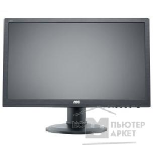 "Монитор Aoc LCD  23.6"" e2460Pda 16:9 1920х1080 TN, nonGLARE, 250cd/ m2, H170°/ V160°, 20М:1, 5ms, VGA, DVI, Height adj., Pivot, Tilt, Speakers, 3Y, Black"