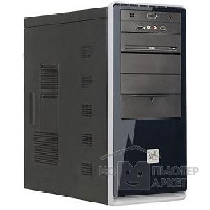 Корпус SuperPower MidiTower SP 6224-CA 600W, ATX, Black-Silver, 4*SATA, PCI-E, AirDuct, USB2.0