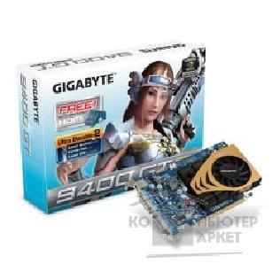Видеокарта Gigabyte GV-N94T-512H, RTL GF9400GT, 512MB DDR, TV-out, Dual DVI  PCI-E