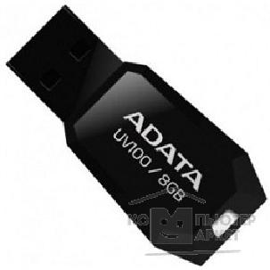 Носитель информации A-data Flash Drive 8Gb UV100 AUV100-8G-RBK