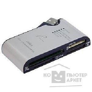 Устройство считывания Rover Computers USB 2.0 Card Reader 24-in-one Rovermate Vogue [Adaptmate-008], серебро