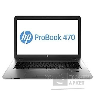 "Ноутбук Hp ProBook 470 E9Y69EA 17.3"" 1600x900 матовый / Intel Core i5 4200M 2.5Ghz / 8192Mb/ 750Gb/ DVDrw/ Ext:AMD Radeon HD8750M 2048Mb / Cam/ BT/ WiFi/ 47WHr/ war 1y/ 3kg/ Metallic Grey/ W7Pro + W8Pro key"