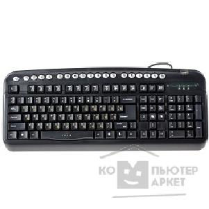 ���������� Oklick 320M Multimedia Keyboard PS/ 2 ������ + USB ���� ������