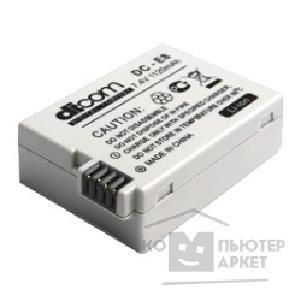 Аккумулятор DICOM DC-E8 for Canon LP-E8 PANDA