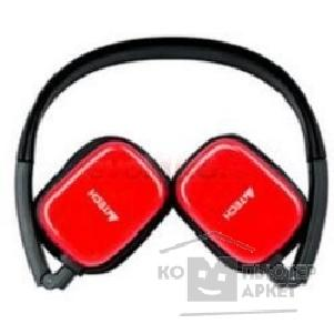 Наушники A-4Tech A4Tech RH-200-4, BLACK+RED/ claret