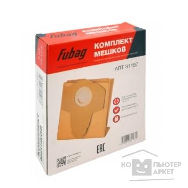 FUBAG Комплект мешков одноразовых 12-17 л для пылесосов серии WD 3_5 шт. [31187]/FUBAG 31187 31187