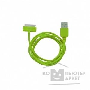 Cbr ������ 30-pin to USB Human Friends Super Link Rainbow C Green, 1�, ��� Iphone 3G\3Gs\4\4s, iPad 1\2\3, iPod 5 g\classic\nano 1 g\nano 2 g\nano 3 g\nano 4 g\nano 5 g\nano 6 g\touch 1 g\touch 2 g\touch