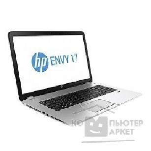 "Ноутбук Hp Envy 17-j019sr F2V21EA i3-4000M/ 6Gb/ 750Gb/ DVD-SMulti/ 17.3"" HD+/ NV GT740 2Gb/ WiFi/ WIDI/ BT/ 6c/ cam/ Win8/ natural silver soft touch"