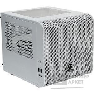 Корпус Thermaltake Case Tt Core V1 [CA-1B8-00S6WN-01] mATX/ win/ white/ USB3.0/ no PSU