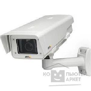 Цифровая камера Axis P1354-E Outdoor, IP66-rated, HDTV, day/ night, fixed network camera with varifocal 3-8 mm DC-iris lens and remote back focus. Lightfinder technology