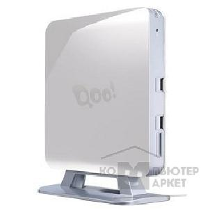 Компьютер 3Q Nettop Qoo! White/ Intel Core i5-3337U/ up to 2.70 GHz/ HM76/ Wi-Fi/ HDMI/ D-SUB/ Card Reader/ Vesa Mount/ 4GB/ 500GB/ DOS 77478