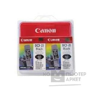 ��������� ��������� Canon BCI-21Black Twin Pack