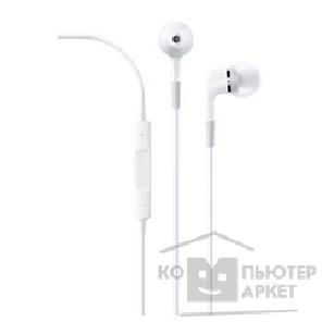 Аксессуар Apple ME186ZM/ A  In-ear Headphones with Remote and Mic