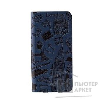 Чехол Ozaki O!coat Travel leather folio case with pocket for iPhone 6. London OC569LD