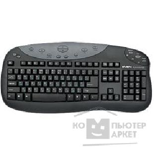 Клавиатура Sven Keyboard  808 Multimedia, black PS/ 2