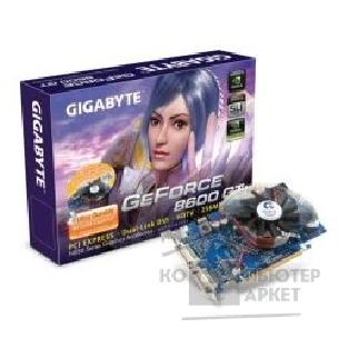 Видеокарта Gigabyte GV-NX86T256H-ZL, OEM GF8600GT, 256Mb, DVI, TV-out  PCI-E