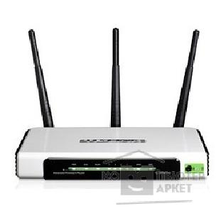 Сетевое оборудование Tp-link TL-WR941ND Маршрутизатор Wireless Router, Atheros, 3x3 MIMO, 2.4GHz, 802.11n Draft 2