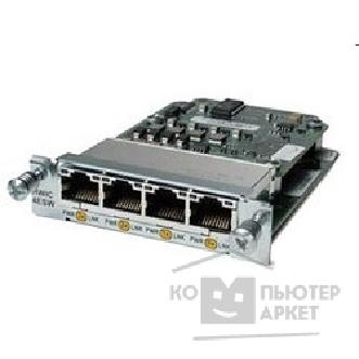 Модуль Cisco HWIC-4ESW= [Four port 10/ 100 Ethernet switch interface car