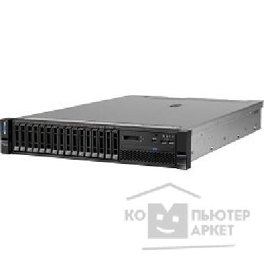 Сервер Lenovo TopSeller x3650M5 E5-2690v3 2.6GHz 12C, 16GB 1x16GB 2133MHz LP RDIMM, no HDD up to 8x2.5 , M5210 RAID 0,1,10 , no Optical Drive, BMC5719 QP 1GbE, IMM2.1, no LCD, PS 1 x 900W up t
