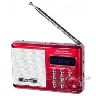 ������������� Perfeo ����-����� Sound Ranger, FM MP3 USB microSD In/ Out �����, BL-5C 1000mAh ������� PF-SV922RED