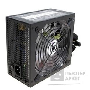 Hiper Б/ питания  V600 Carton Retail, Black, 600W, ATX 2.3, EPS12V, APFC, 14 cm Fan, Transparent Blades, Orange LED, 80 Plus, PCI-E x2, SATA x6