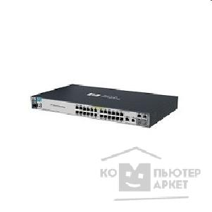 Сетевое оборудование Hp J9138A  E2520-24-PoE Managed, 24*10/ 100 + 2*10/ 100/ 1000 + 2*10/ 100/ 1000 or SFP, PoE, desktop