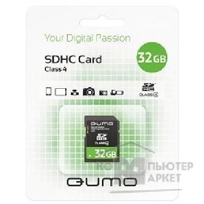 ����� ������  Qumo SecureDigital 32Gb  QM32GSDHC4 , Class4