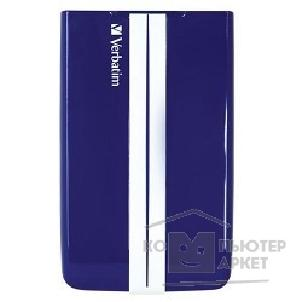 носители информации Verbatim HDD 1Tb  USB3.0 Portable HDD [53083] GT Blue&White