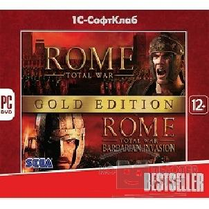 Игры Bestseller. Rome: Total War Gold Edition [PC, Jewel, русская версия]
