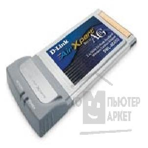Сетевое оборудование D-Link DWL-AG650 802.11ag  Wireless LAN CardBus Adapter