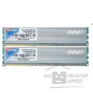 Модуль памяти Patriot DDR-III 2GB PC3-12800 1600MHz Kit 2 x 1GB [PDC32G1600LLK]