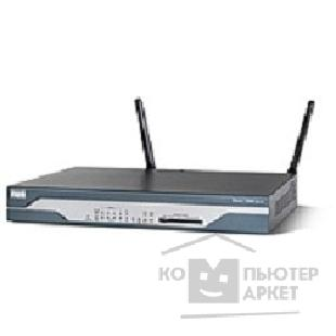 Сетевое оборудование Cisco 1801/ K9 [ADSL/ POTS Router with Firewall/ IDS and IPSEC 3DES]