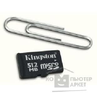 Карта памяти  Kingston Micro SecureDigital 512Mb  SDC/ 512-2ADP