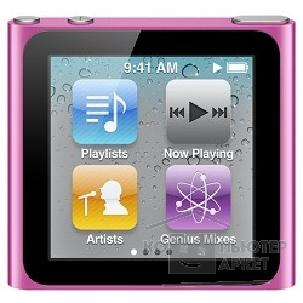 APPLE гаджет MP3 Apple iPod nano 6 16GB - Pink MC698QB/ A