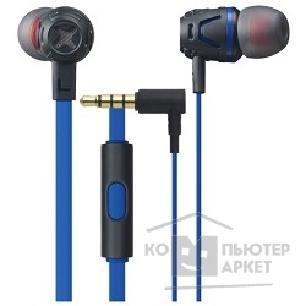 Cresyn Наушники вкладыши Phiaton model C450S mic Blue CPU-ES0450BL02