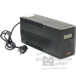 EXEGATE  ИБП Power EP212512RUS Smart ULB-400 LCD <400VA, Black, 2 евророзетки, USB>