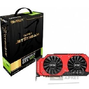 Видеокарта Palit GeForce GTX980 JETSTREAM 4Gb 256bit GDDR5 RTL