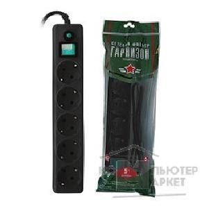 Сетевой фильтр Гарнизон 6 Sockets 5m EHW-15