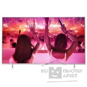 "Телевизор Philips 40"" 40PFT5501/ 60 серебристый/ FULL HD/ 500Hz/ DVB-T/ DVB-T2/ DVB-C/ DVB-S/ DVB-S2/ USB/ WiFi/ Smart TV RUS"