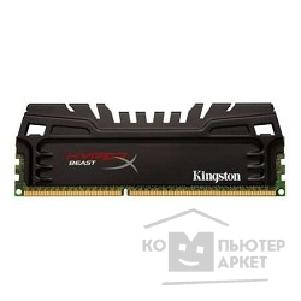 Модуль памяти Kingston DDR3 DIMM 8GB PC3-12800 1600MHz Kit 2 x 4GB  KHX16C9T3K2/ 8X HyperX CL9 XMP Beast Series