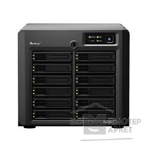 Дисковый массив Synology DX1211 Сетевой накопитель без жестких дисков, DiskStation DC2,13GhzCPU/ 2Gb up to 4 / RAID0,1,10,5,5+spare,6/ up to 12hot plug HDDs SATA 3,5' or 2,5'  up to 24 with DX1211 / 2xUSB3.0,4xUSB2.0/ 1I