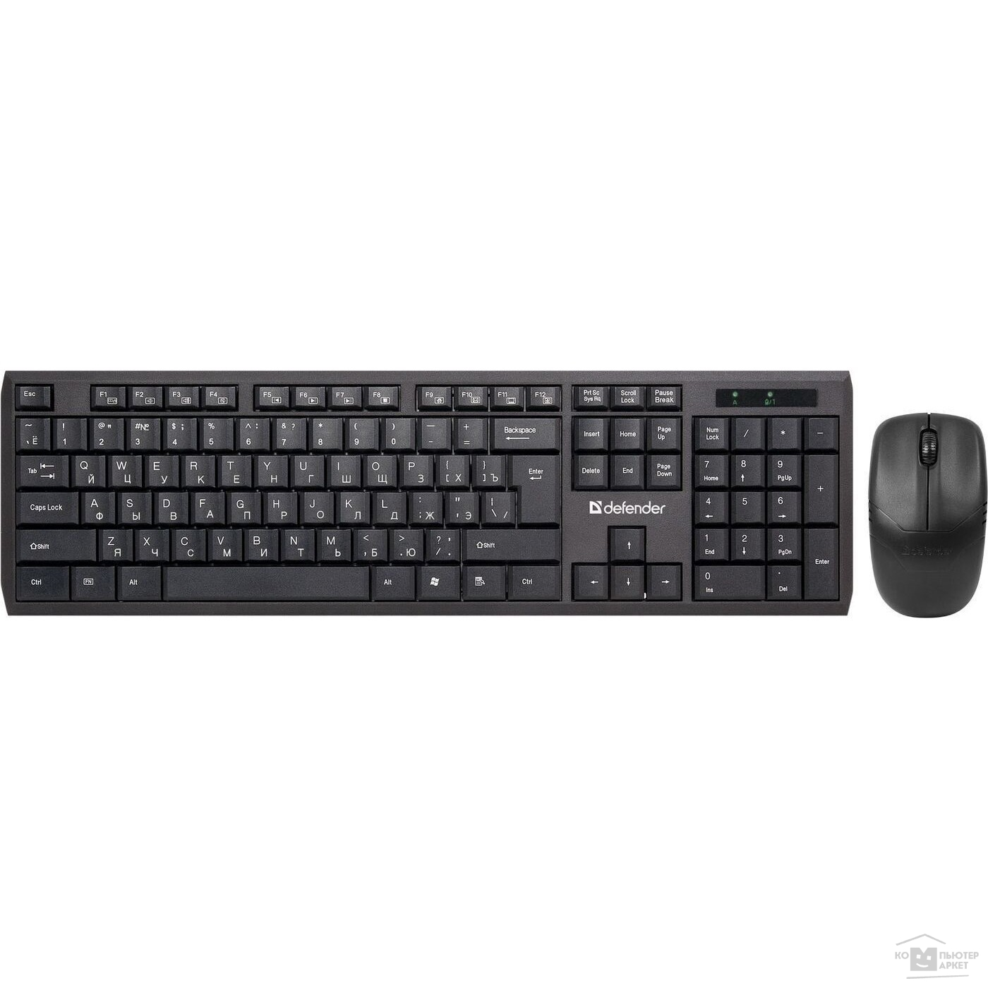 Клавиатура Defender Harvard C-945 Nano Black USB [45945]