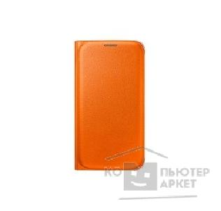 Samsung Чехол для  Galaxy S6  FlipWallet orange SAM-EF-WG920POEGRU