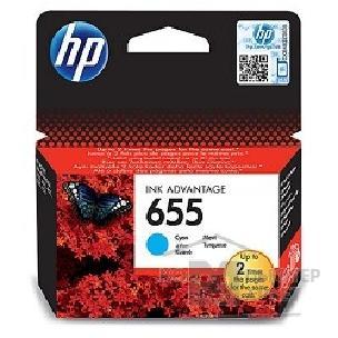 HP CZ110AE Картридж №655, Cyan {DeskJet IA 3525/5525/4615/4625, Cyan}/HP CZ110AE CZ110AE