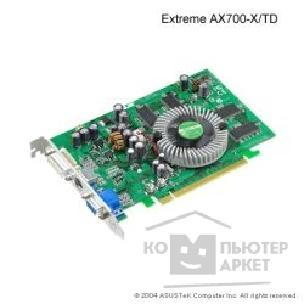 Видеокарта Asus TeK EAX700-X/ TD 128MB DDR, ATI RADEON X700 DVI, TV-out PCI-E