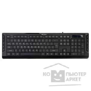 Клавиатура A-4Tech Keyboard A4Tech KD-600 USB, 114 клавиш, мультимедиа, X-Slim