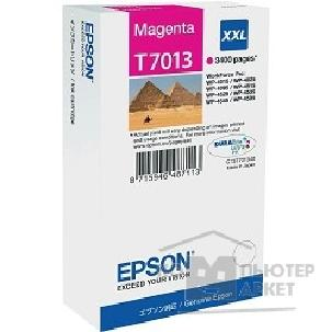Расходные материалы Epson C13T70134010 WP 4000/ 4500 Series Ink XXL Cartridge Magenta 3.4k