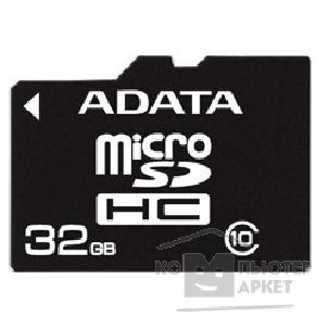 Карта памяти  A-data Micro SecureDigital 32Gb  AUSDH32GCL10-RA1